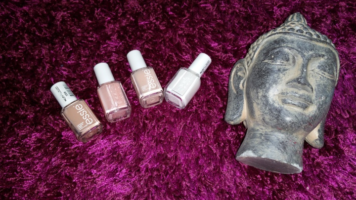 Essie a very  special Thumbs nails Haul