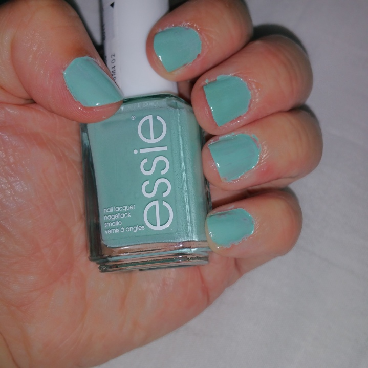 "Thumbs nails of the week  ""Mint Candy Apple"""