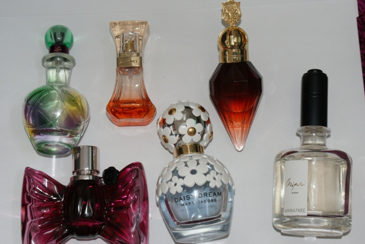 My perfume collection Drugstore and High-end