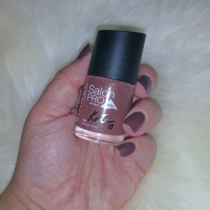 Thumbs nails of the week Rimmel in SensualSpice
