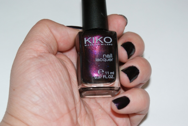 Thumbs nails of the month; Kiko nail laquer in 497