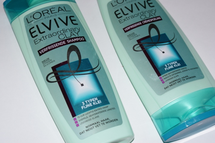Thumbs review: L'oreal Elvive Extraordinary Clay Shampoo and Conditioner