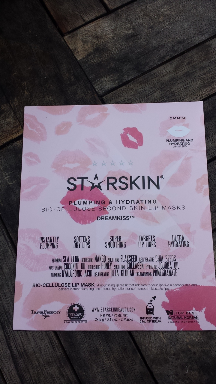 Thumbs review: Starskin Plumping & Hydrating Bio- Cellulose Second Skin Lip Mask