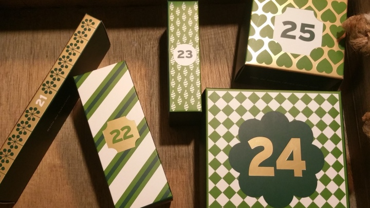 24 Days of Advent Calendar Fun (Day 21,22,23,24 and 25)