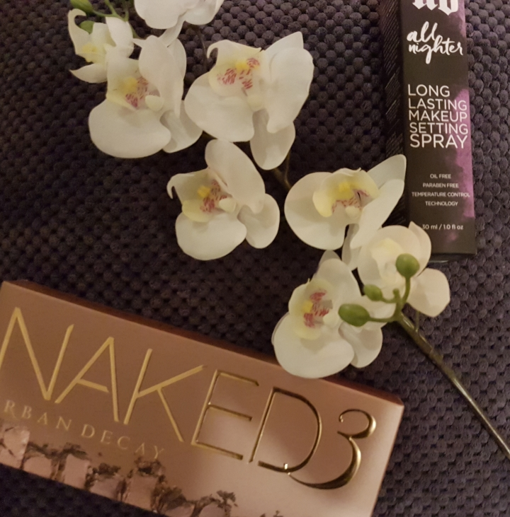 I finally caved and bought the Naked  Palette and All Nighter SettingSpray