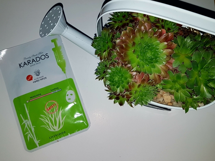 Thumbs Review: Karados Aloe Vera Mask Pack